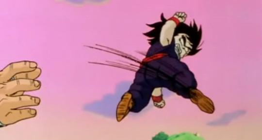 Gohan kicking ass