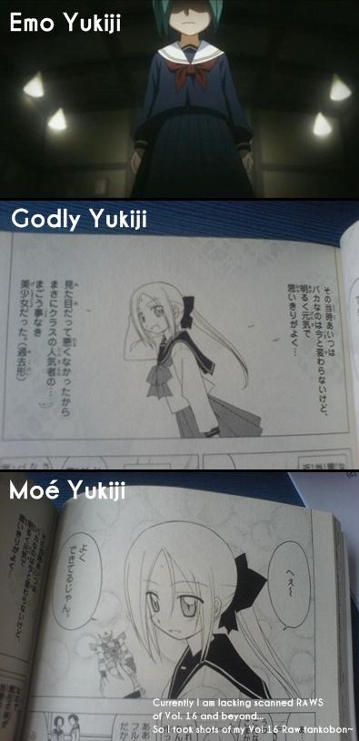 Yukiji in a Sailor Fuku, in many facial expressions...