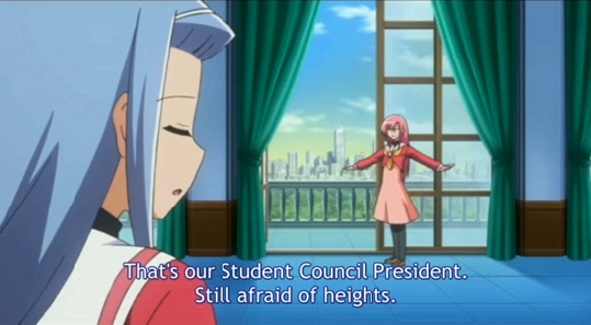 The day when Hina will conquer her acrophobia whill be lightyears away.