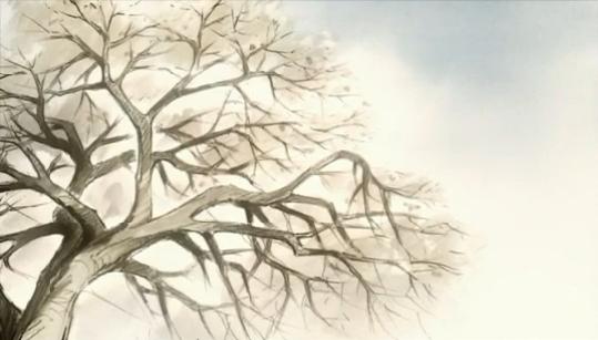 J.C. Staff's trademark Sakura Trees. s