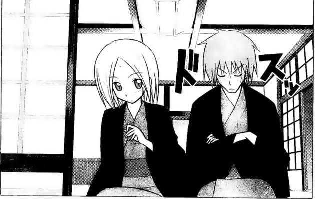 In this panel Kaoru looks a lot like the homo Kotetsu