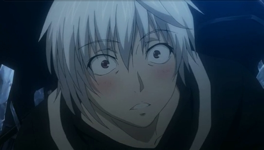 The first time I've seen Accelerator blush.