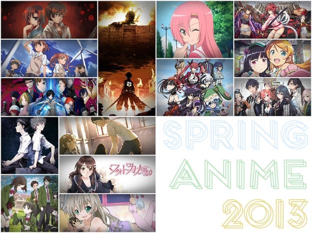 spring anime 2013